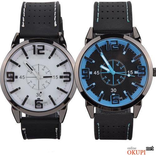 часы со стрелками аналоговые часы часы с белым циферблатом люминисцентная подсветка